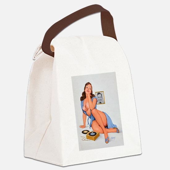 pinup ! Canvas Lunch Bag