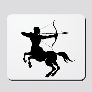 The Centaur Archer Sagittarius Zodiac Mousepad