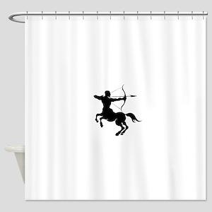 The Centaur Archer Sagittarius Zod Shower Curtain
