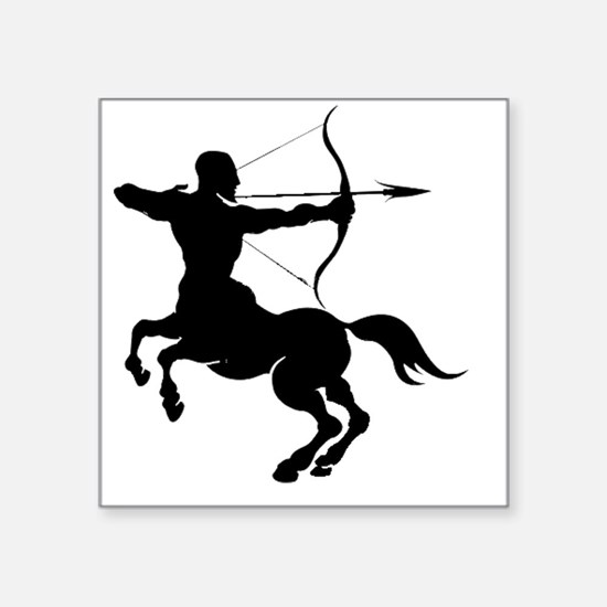 The Centaur Archer Sagittarius Zodiac Sticker
