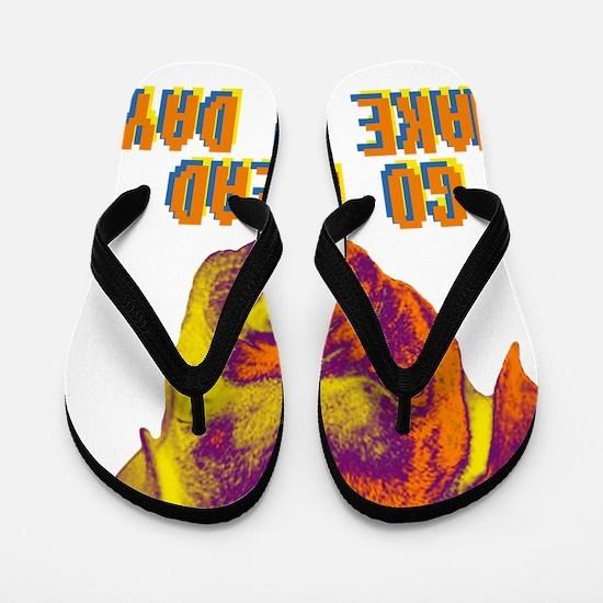 Go ahead make my day Flip Flops