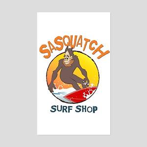 Sasquatch Surf Shop Sticker