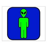 Alien Man Small Poster