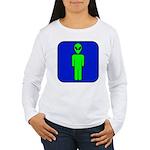 Alien Man Women's Long Sleeve T-Shirt