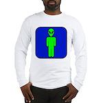 Alien Man Long Sleeve T-Shirt