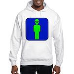 Alien Man Hooded Sweatshirt