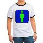 Alien Man Ringer T