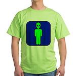 Alien Man Green T-Shirt