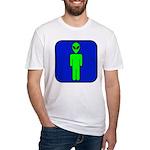 Alien Man Fitted T-Shirt