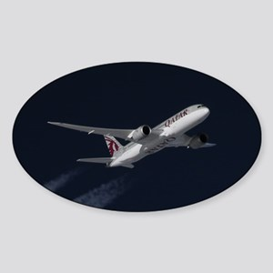 Qatar Airways Dreamliner Boeing 787 inflig Sticker