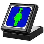 Alien Woman Keepsake Box