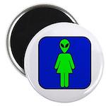 Alien Woman Magnet