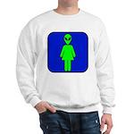 Alien Woman Sweatshirt