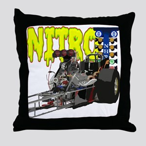 Nostalgia Nitro Throw Pillow