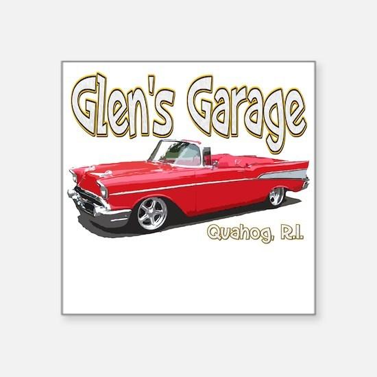 Glen's Garage Sticker