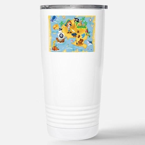 little pirate Stainless Steel Travel Mug