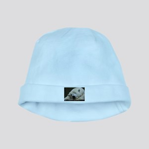 Polar bear 011 baby hat