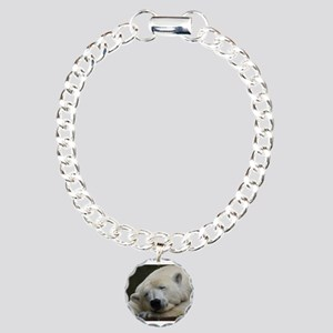 Polar bear 011 Charm Bracelet, One Charm