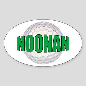 NOONAN Oval Sticker