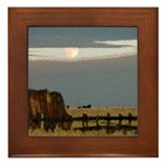 Prairie Moon Framed Tile