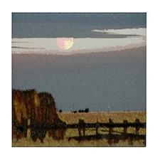 Prairie Moon Tile Coaster