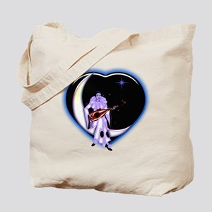 Valentine's Day Blue Star by Bluesax Tote Bag