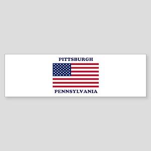 Pittsburgh Pennsylvania Sticker (Bumper)