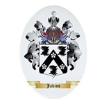 Jakins Ornament (Oval)