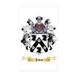 Jakes Sticker (Rectangle 50 pk)