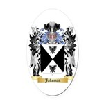 Jakeman Oval Car Magnet
