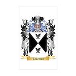 Jakeman Sticker (Rectangle 50 pk)