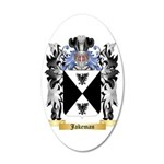 Jakeman 35x21 Oval Wall Decal