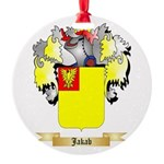 Jakab Round Ornament