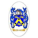 Jaimez Sticker (Oval 50 pk)