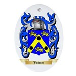 Jaimez Ornament (Oval)