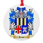 Jaime Round Ornament