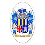 Jaime Sticker (Oval 10 pk)