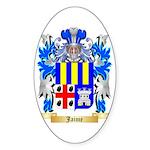 Jaime Sticker (Oval 50 pk)