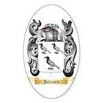 Jahnsen Sticker (Oval 50 pk)