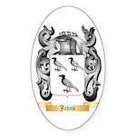 Jahns Sticker (Oval 50 pk)