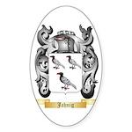 Jahnig Sticker (Oval 50 pk)
