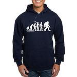 Sasquatch Evolution Hoodie (dark)