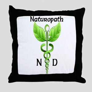 Naturopath Throw Pillow