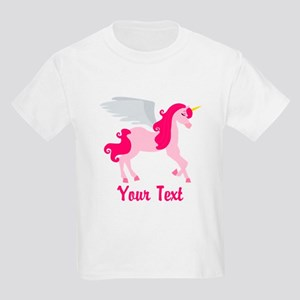 Cute Pink Flying Unicorn T-Shirt