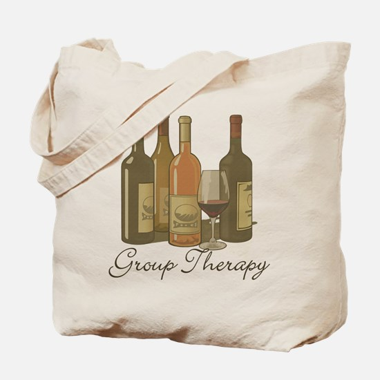 Wine Group Therapy 1 Tote Bag
