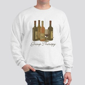 Wine Group Therapy 1 Sweatshirt