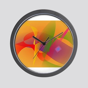 Digital Kandinsky Emulation Wall Clock
