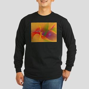 Digital Kandinsky Emulation Long Sleeve T-Shirt