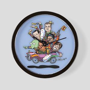 Jan '15 Clown Car Wall Clock