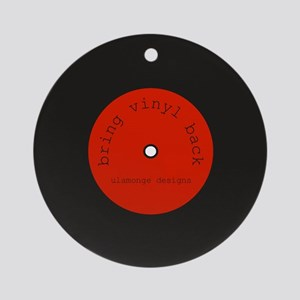 Bring Vinyl Back | Ornament (Round)
